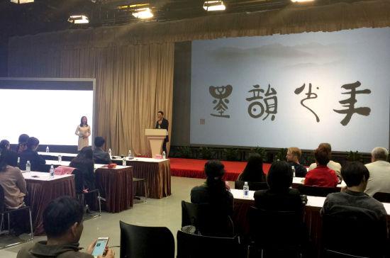 李战刚在沪做《墨韵少年》美育教育系列讲座